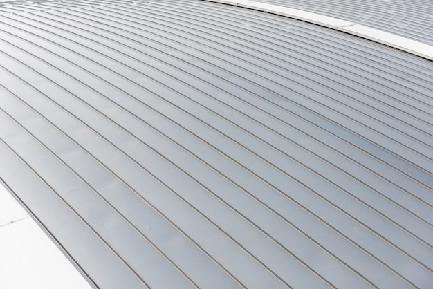 Aluminum sheet roof