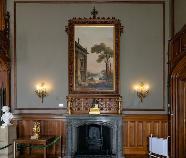 Алупка крым интерьер дворца графа воронцова зимний сад