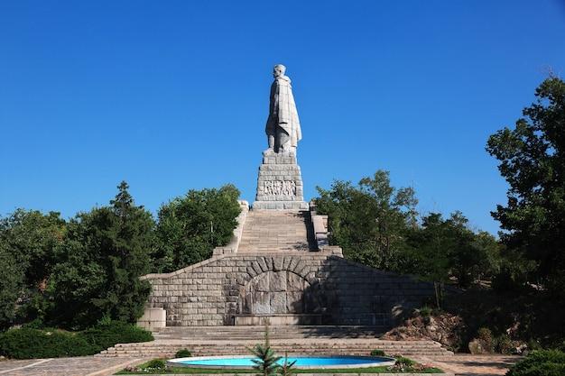 アリョーシャ記念碑、プロブディフ、ブルガリア