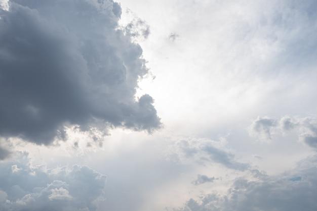 雲のある素晴らしい美しい空