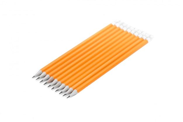 Amazing isolated pencils