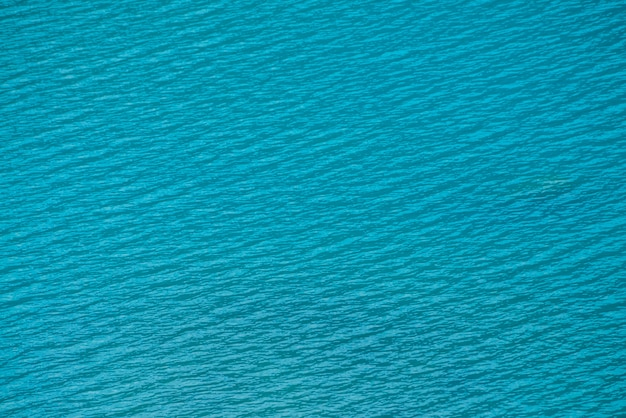 Amazing textured scene of calm azure clean water surface