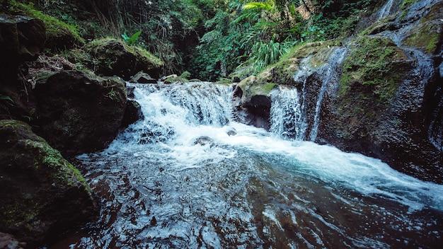 滝の素晴らしい景色。