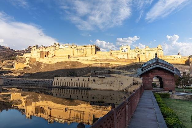 Amber fort in jaipur, famous landmark of india.
