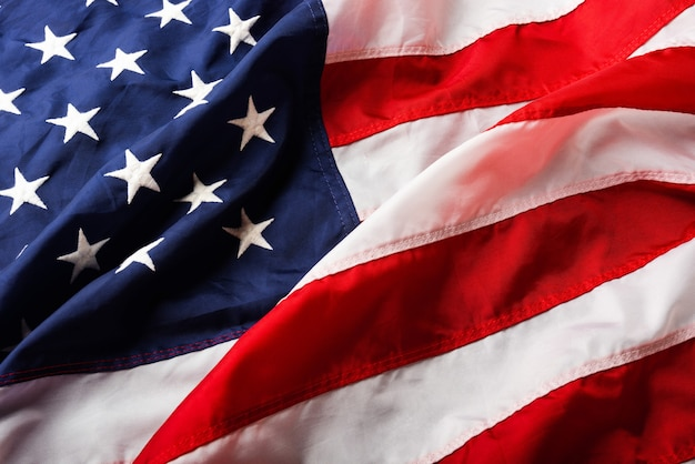 America united states flag memorial remembrance and thank you of hero