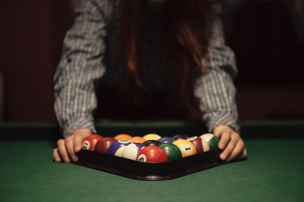 American billiard poule