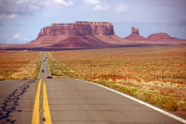 American desert highway