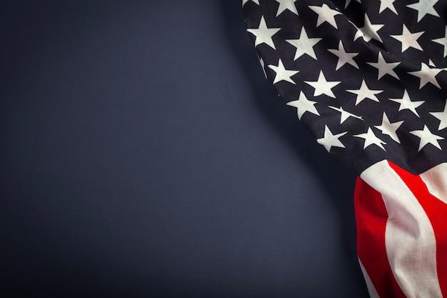 Фон американского флага для редактирования вашего дизайна.