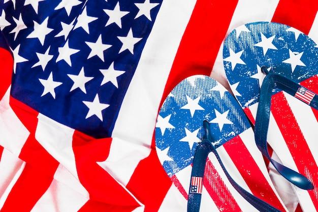 Фон американского флага