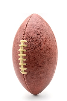 American football and rugby ball