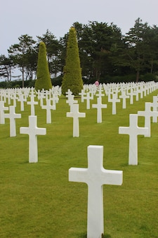 American military cemetery in colleville