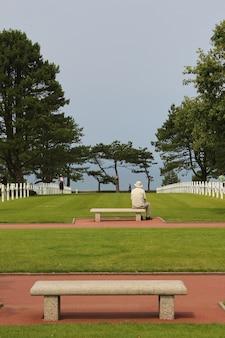 Colleville의 미국 군사 묘지