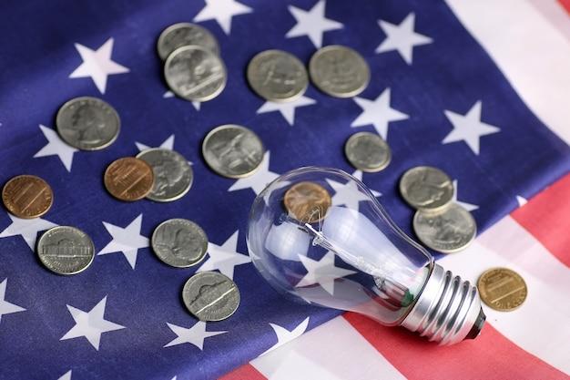 アメリカのパワープログラムランプコインマネー