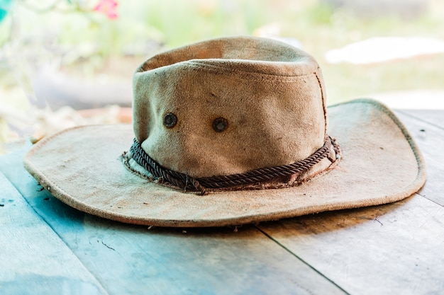American west rodeo cowboy felt hat
