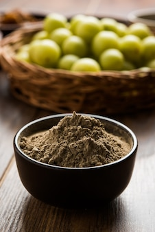 Amla or indian gooseberry and it's by products like chyawanprash, juice, digestive supari or mouth freshner, powder, sweet murabba, pickle