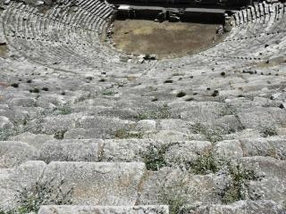 Amphitheater in the ancient city of nysa