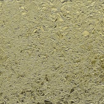 Абстрактная золотая измельченная фольга текстура фоновое изображение