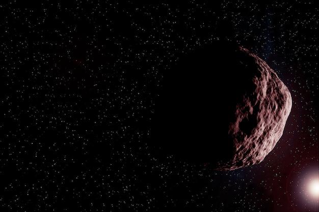 宇宙の小惑星。この画像の要素はnasaから提供されました。あらゆる目的のために。