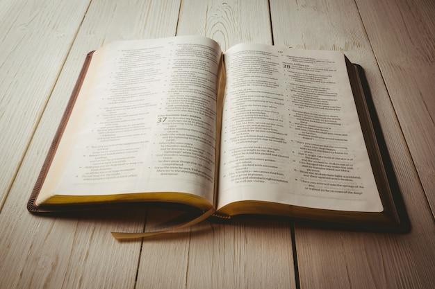 Открытая библия