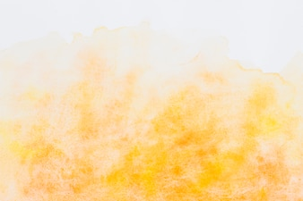 An orange watercolor textured background