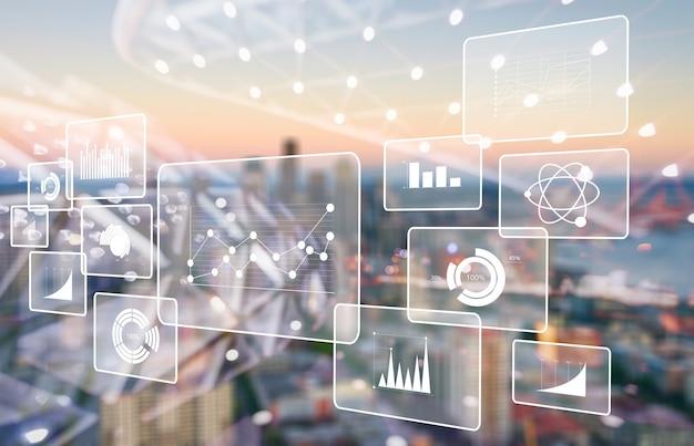分析データビッグビジネスインテリジェンスの背景bi