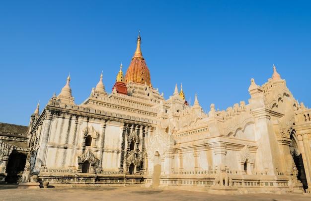 Ananda temple in old bagan, myanmar