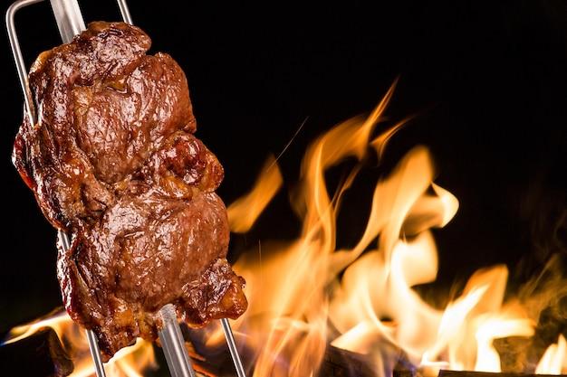 Ancho, traditional brazilian barbecue.