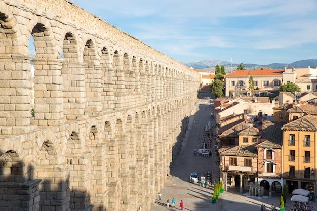 Ancient aqueduct  segovia
