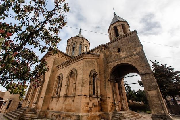 An ancient armenian church in derbent. dagestan, russia