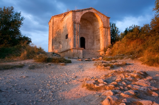 Ancient building (crimea, mausoleum)