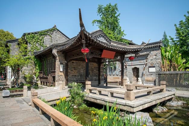 Wuzhen의 고대 건축물