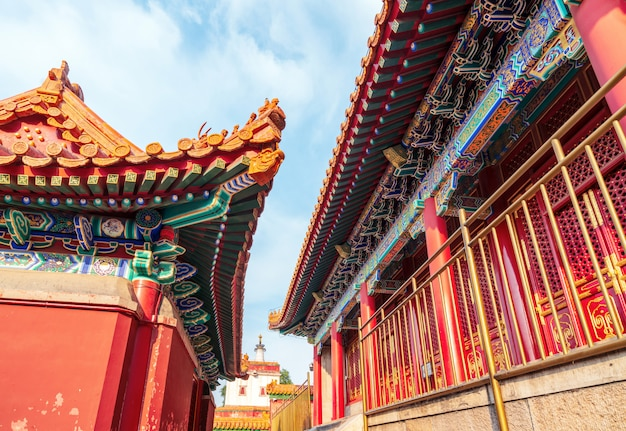 Ancient buildings of the summer palace