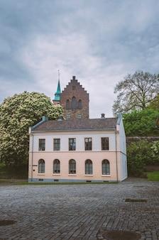 ノルウェーのオスロ市にある古代の城アーケシュフース要塞