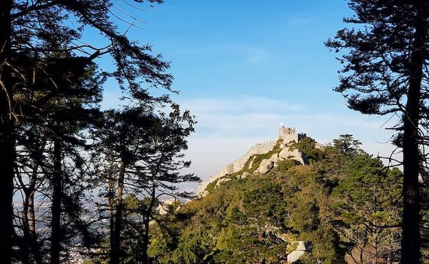 산에 고대 성