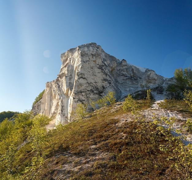 Древние меловые горы в средней полосе россии