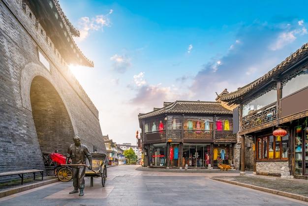 Ancient city, dongguan old street, yangzhou, china