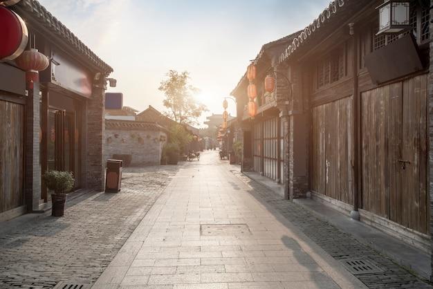 고대 도시, 동관 구 거리, 양저우, 중국
