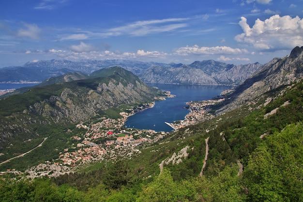 The ancient city kotor on the adriatic coast, montenegro