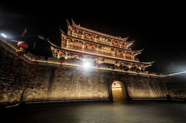 中国広東省潮州市の古代都市タワー広済タワー