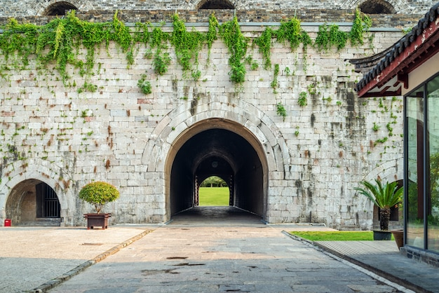 Ancient city wall gate