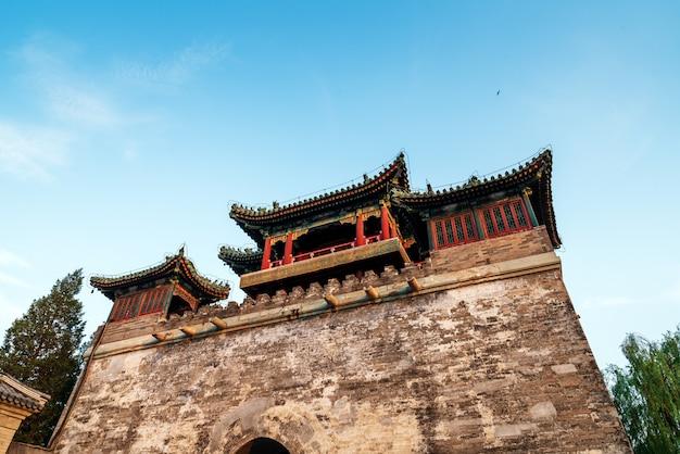 고대 도시 벽