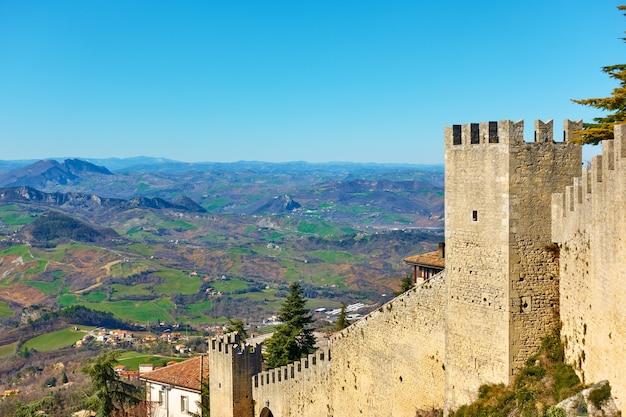 산마리노, 산마리노의 고대 도시 성벽