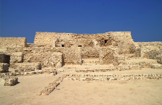 Ancient fortification in manama, bahrain