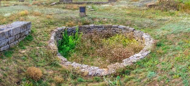 Ancient greek colony olbia in parutino, ukraine