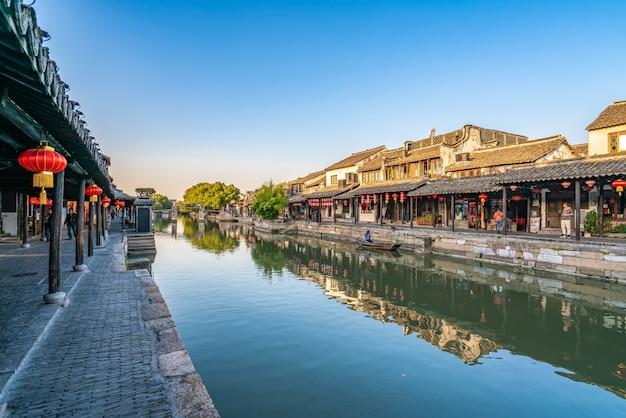 Ancient houses in xitang ancient town, zhejiang