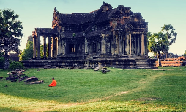 Ancient library in angkor