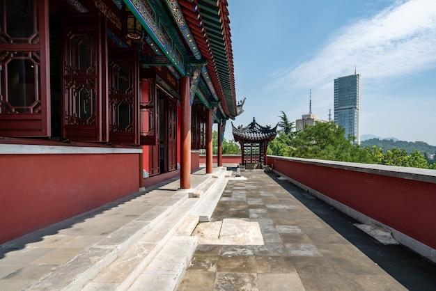 Древний лофт и городская архитектура в нанкине, цзянсу, китай