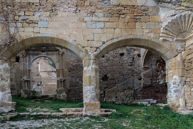 산타 마리아 데 리오세코의 고대 수도원. 부르고스. 스페인.