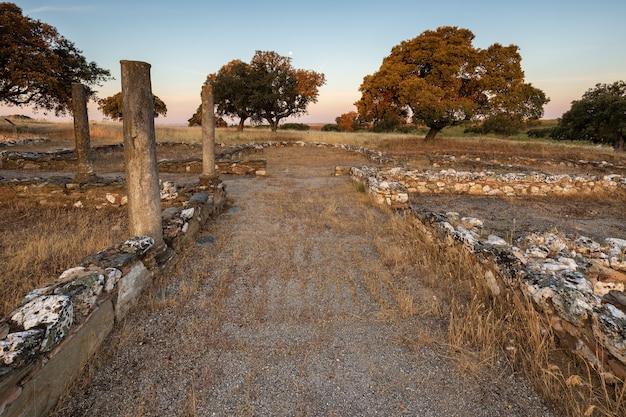 Monroy extremadura spain 로스 테르미노스의 고대 로마 빌라