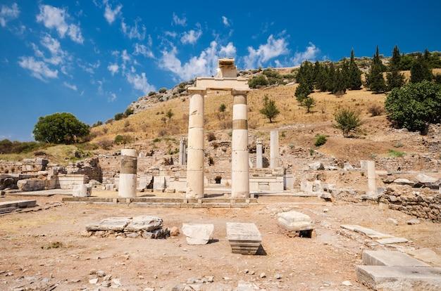 Ancient ruins of ephesus, turkey.